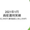 2021年1月 資産運用実績