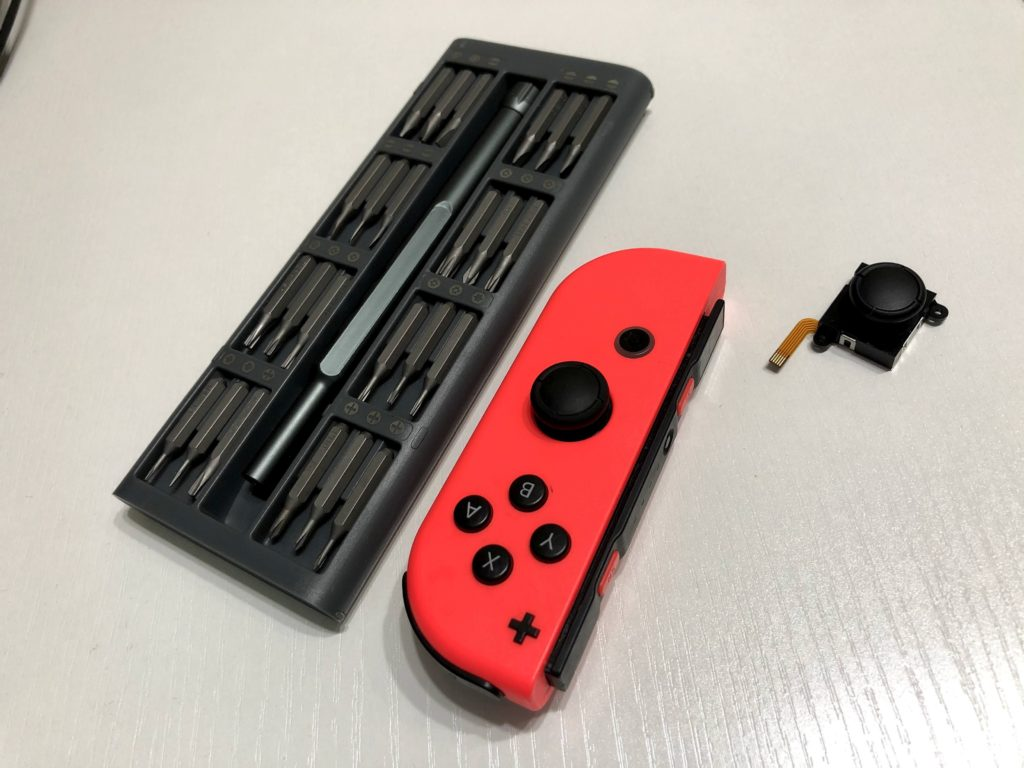 任天堂Switch JoyConと替えのアナログスティック