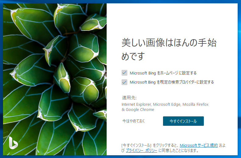 Bing Wallpaper Installer