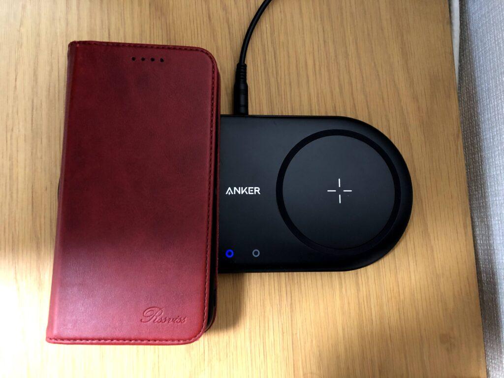 Anker PowerWave 10 Dual PadとiPhone XR