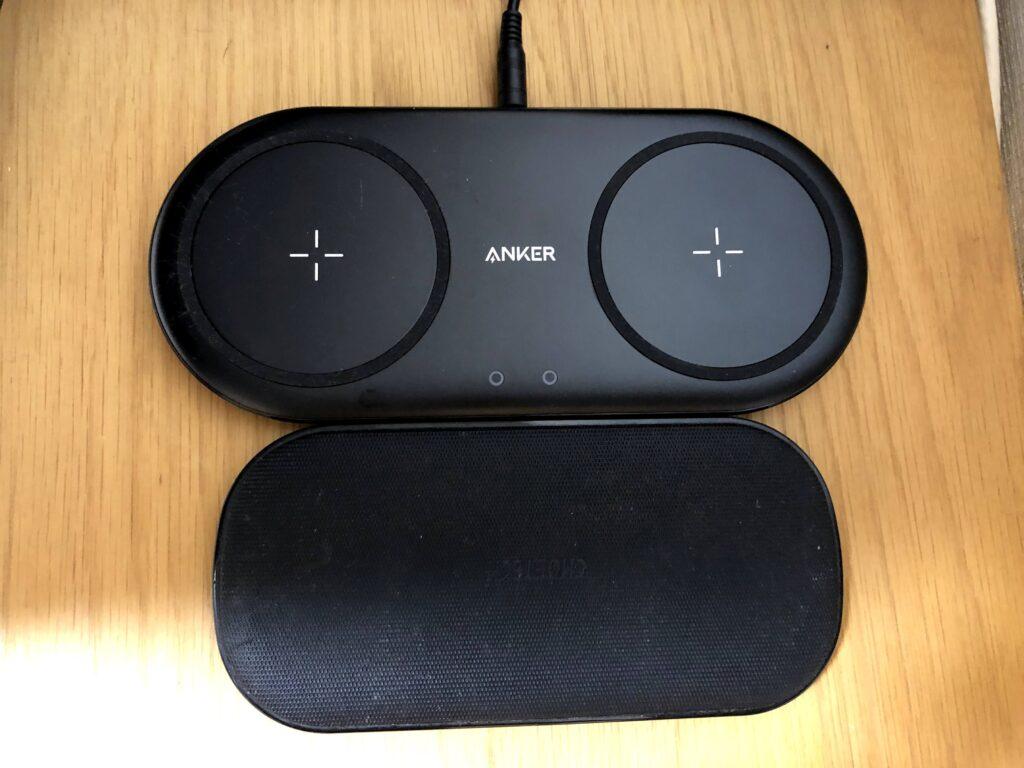 Anker PowerWave 10 Dual PadとCHOETECHの比較