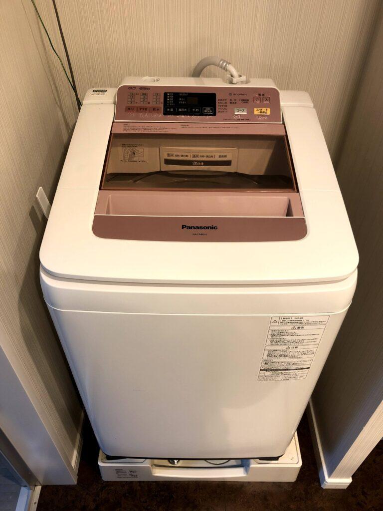 パナソニック製全自動洗濯機NA-FA80H1