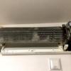 三菱電機ルームエアコン MSZ-JXV224-W 分解済み