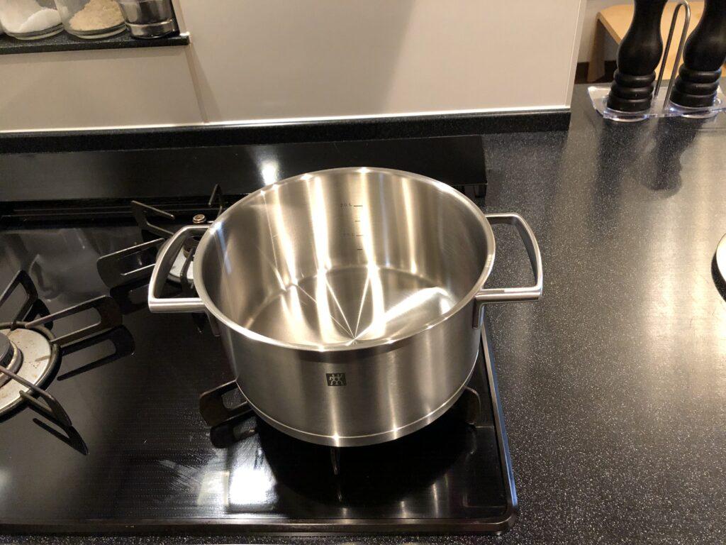 ツヴィリング Vitality シチューポット 20cm 3L ステンレス鍋
