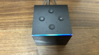 Alexa起動中のFire TV Cube